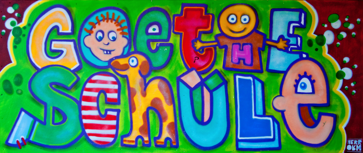 Goetheschule Marl Logo